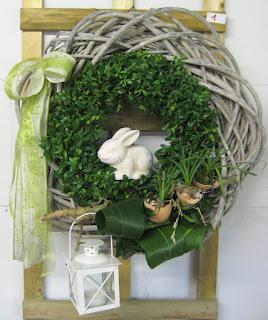 Bloemschikken Voorjaar & Pasen 2012 - Deurkrans