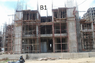 Amrapali Terrace Homes :: Construction Update b1