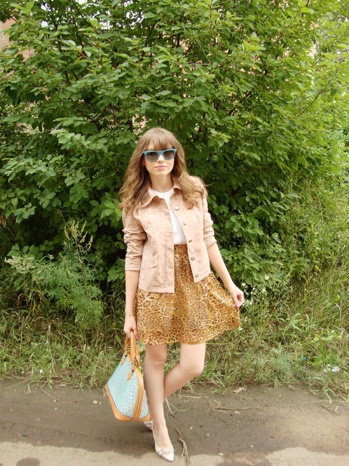 Skirt, Jacket, Blouse, Sunglasses, Handmade, Shoes, High Heels, Bag, Nucelle, Ray-Ban, Вестфалика, Outfit, LIVE 2013