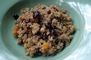 Butternut Squash Quinoa Stuffing {Vegan}: This Week's Cravings (THANKSGIVING)