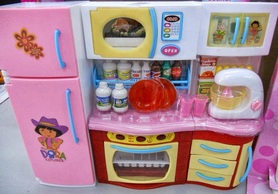 Little junior baby kids store dora the explorer kitchen set for Kitchen set for babies