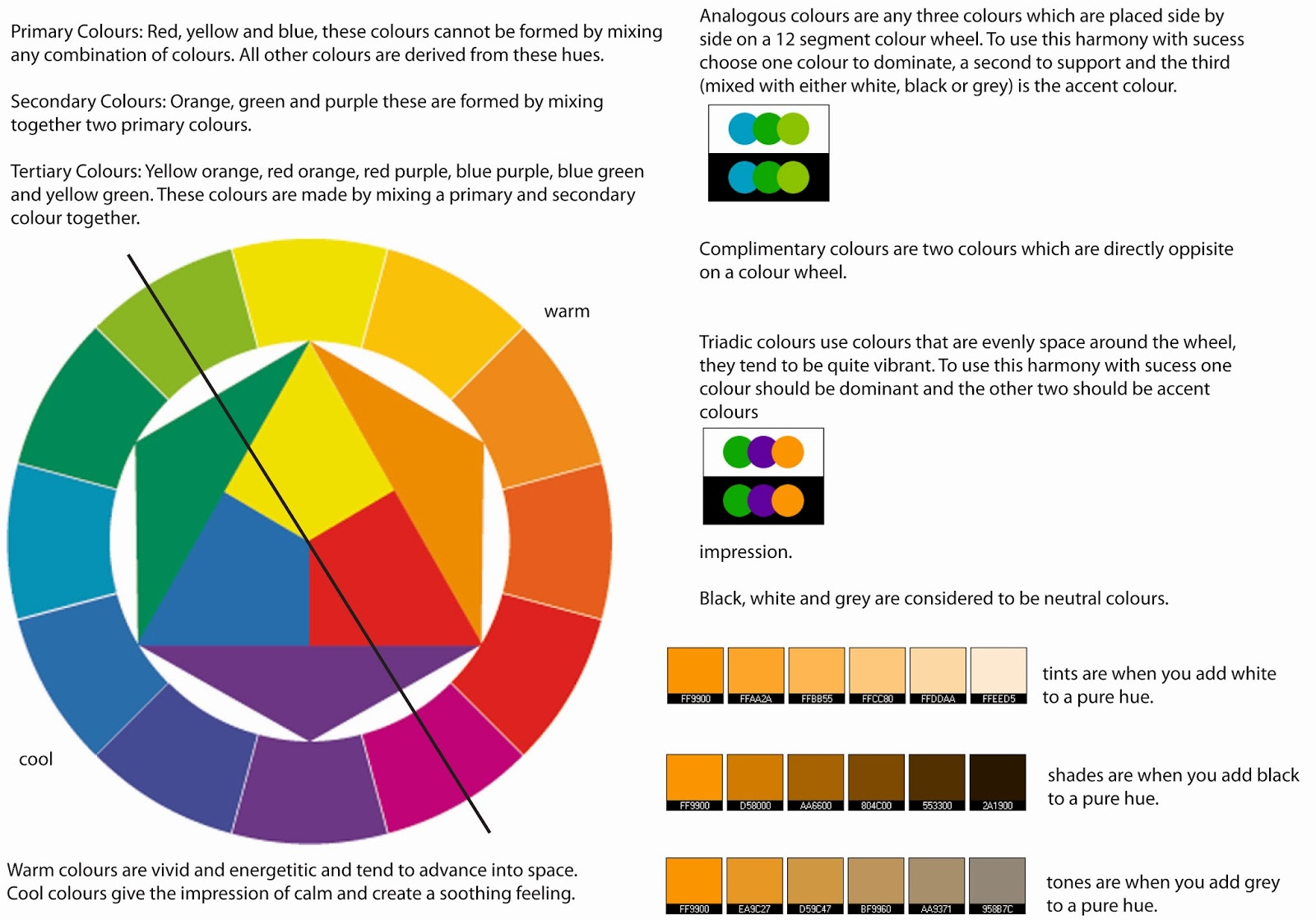 the colour theory Color theory is the general application of color principles to design it involves  different types of additive and subtractive color systems that define a palette of.