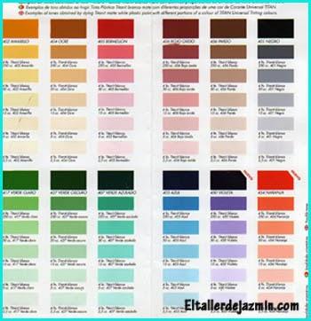 Tus manos y las mias 1 02 14 1 03 14 for Gama de colores pintura