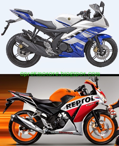 Komparasi Performa CBR150R Vs YZF R15
