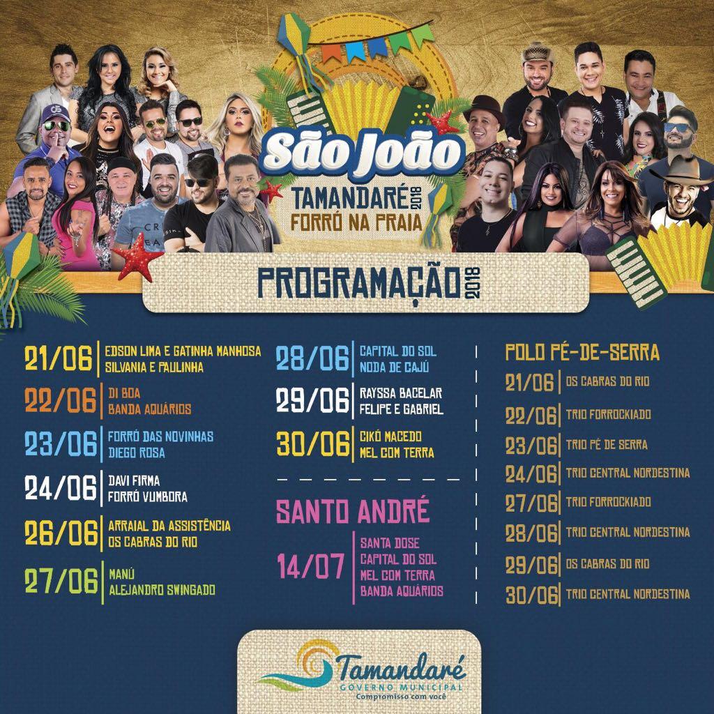 São João 2018 em Tamandaré