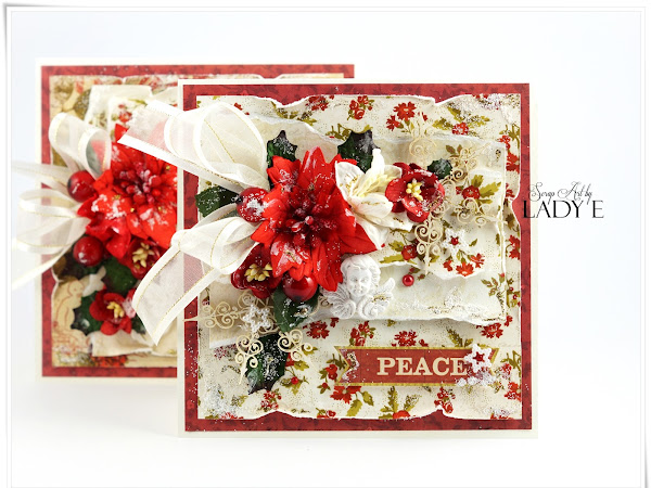 Traditional Christmas Cards & Video Tutorial Wild Orchid Crafts DT