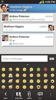 تنزيل تطبيق BBM لهواتف الاندرويد و الايفون