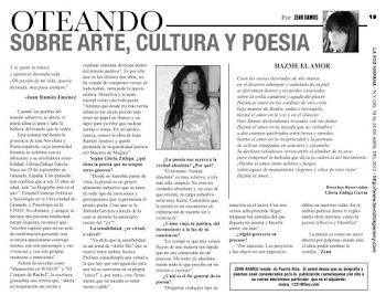 """Entrevista en """"La Voz Hispana"""""""