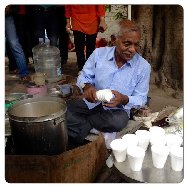 Laxman Rao, tea seller-cum-author