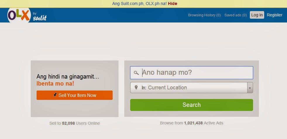 Sulit, OLX Philippines, OLX PH