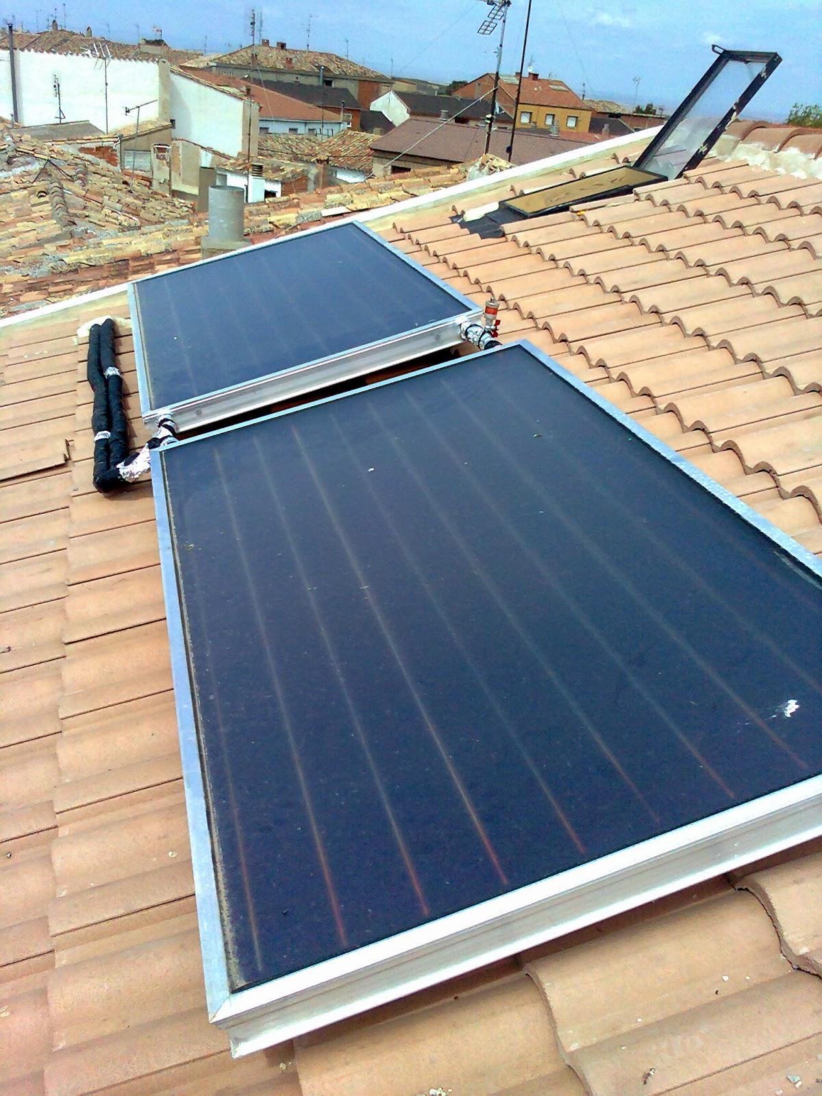 La fontaner a bien hecha placas solares para producci n - Placas solares agua caliente ...