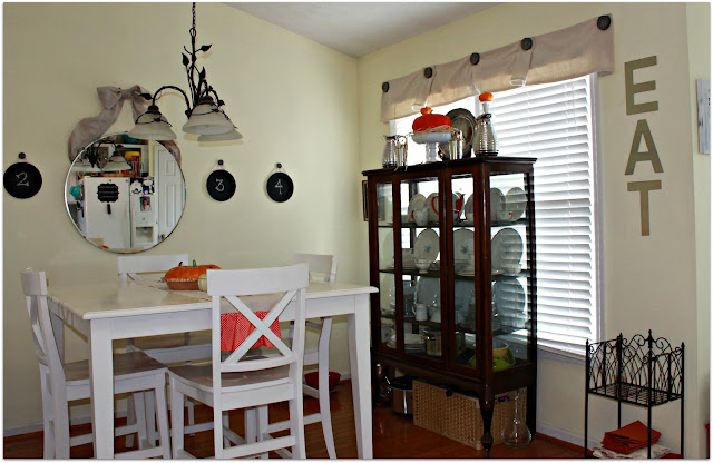 diningroom2 Mom keeping it 4 real in Kentucky home tour {Charming, recently renovated diy kitchen makeover}