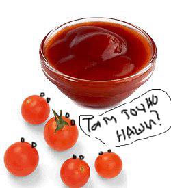 Креативное продвижение кетчупа.