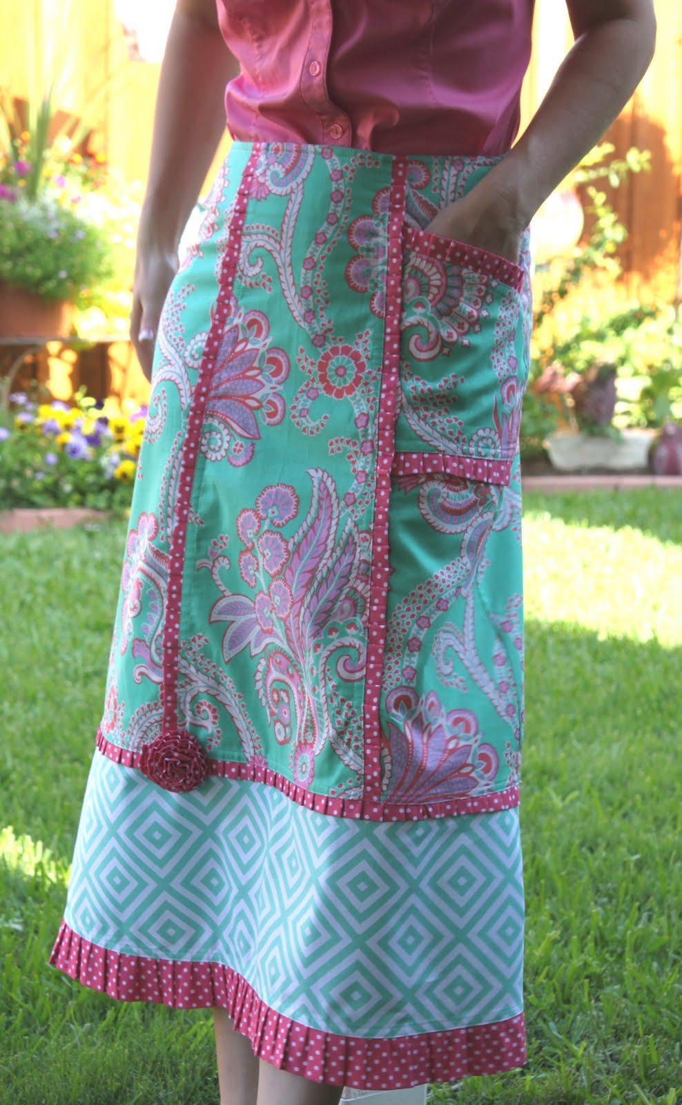 Sew Serendipity: Summer of No Pants: A Skirt Tutorial from Sew ...