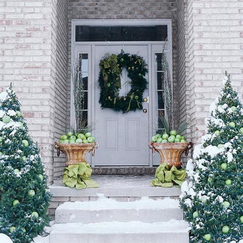 Decoraci n de fachadas navide as ideas para decorar - Decoracion de fachadas ...