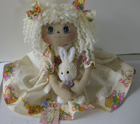 EASTER ANN WHITE BUNNY