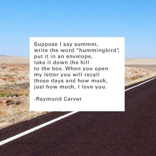 Raymond Carver Quotes. QuotesGram