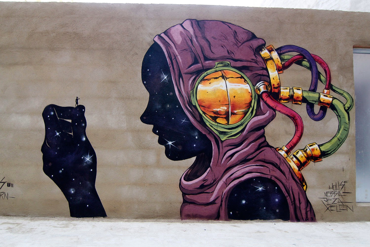 Deih new street art mural barrio del carmen valencia for Call for mural artists 2014