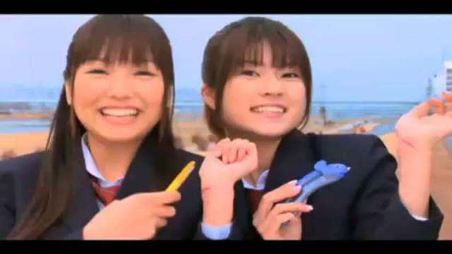 Japonaises qui se tranche les veines, un commercial d'exacto assez troublant