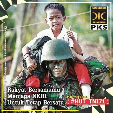HUT TNI 71