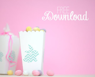 Ree printable easter candy box - Osterschachtel zum kostenlosen Download