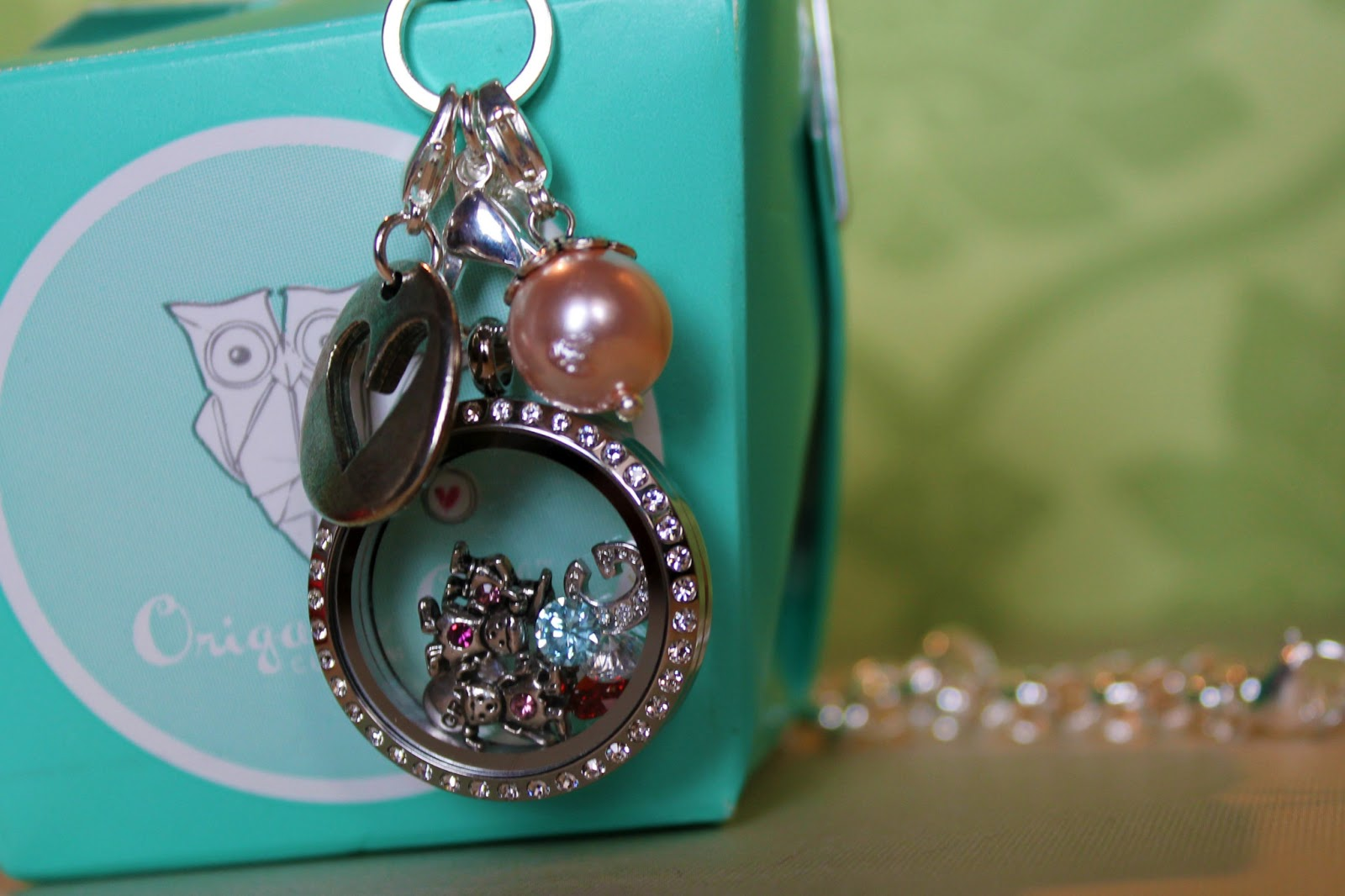 Origami Owl Necklace http://www.hottmamainthecity.com/2013/02/Orgami-Owl-Custom-Jewelry.html