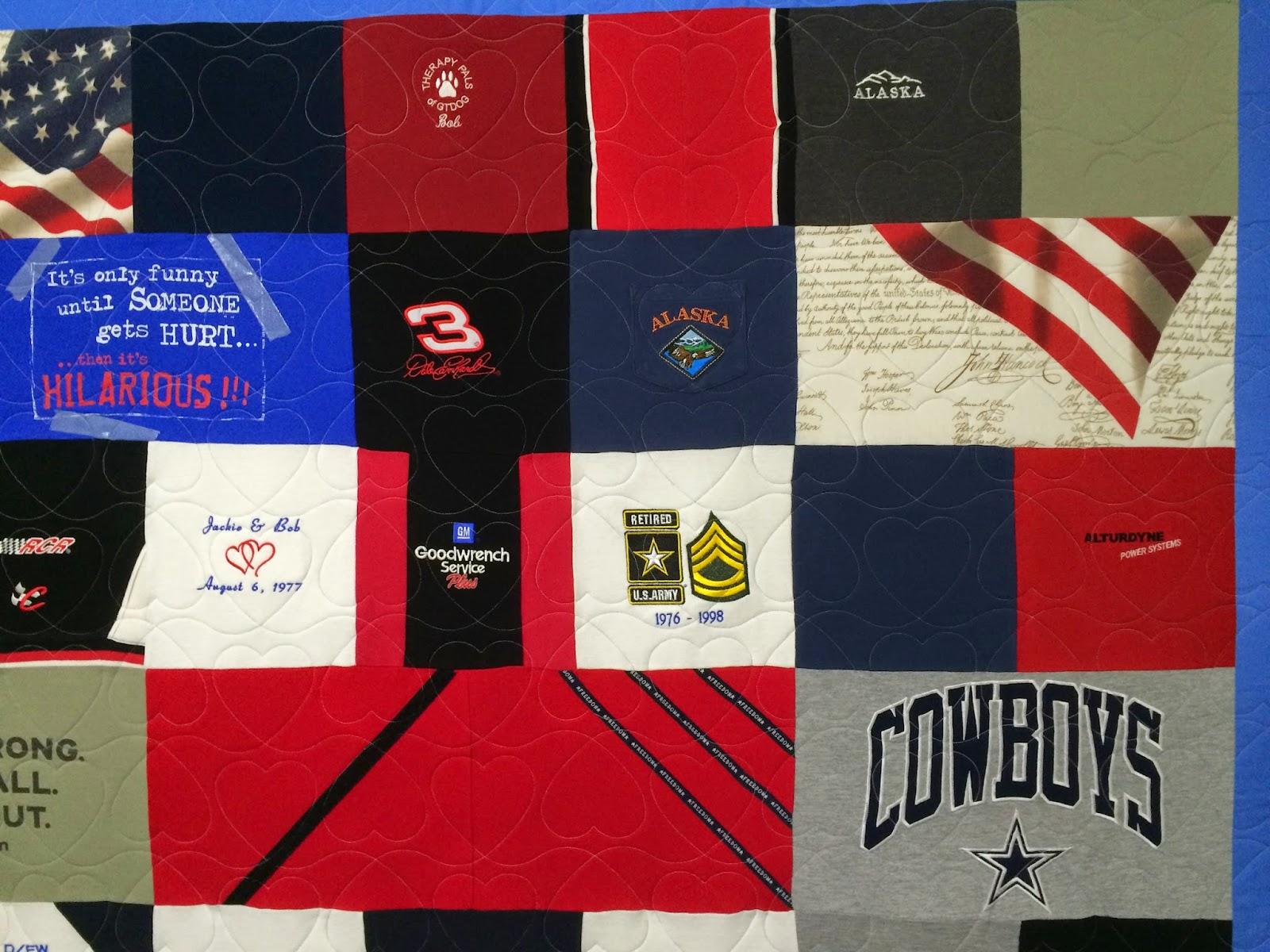 Victoria Huyge's Memorial Quilt