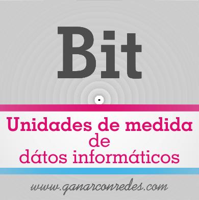 Bit | Unidades de medida de dátos informáticos
