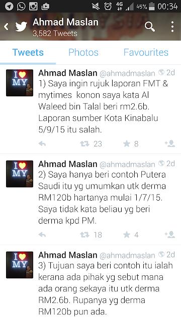 twitter ahmad maslan