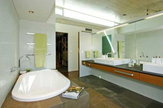 Cottesloe house modern house design in perth by paul burnham minimalist home dezine Bathroom design perth uk
