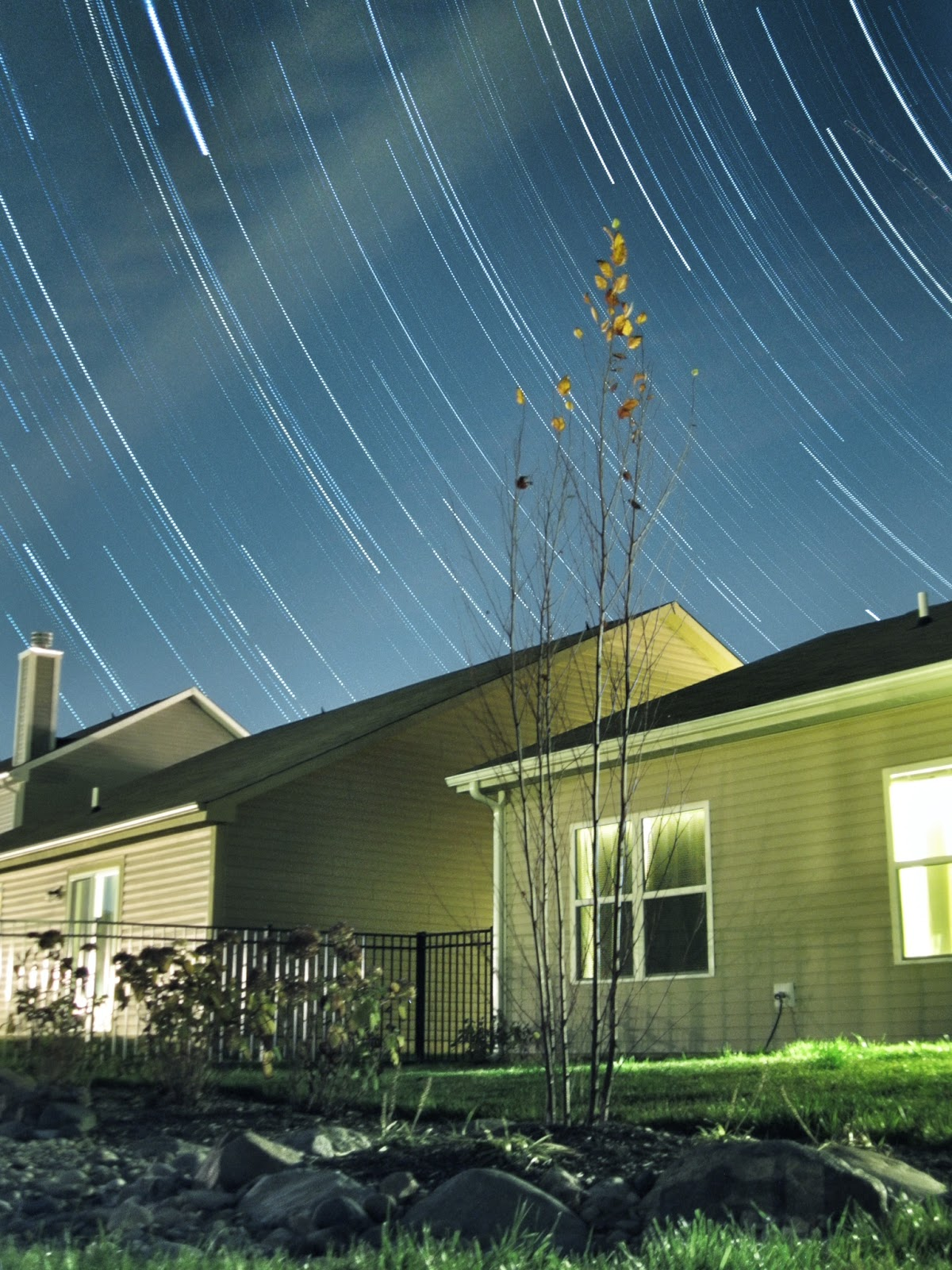 star trails with hdr effect