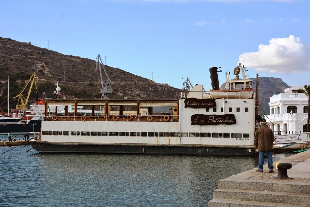 Cartagena Restaurant Boat La Patacha