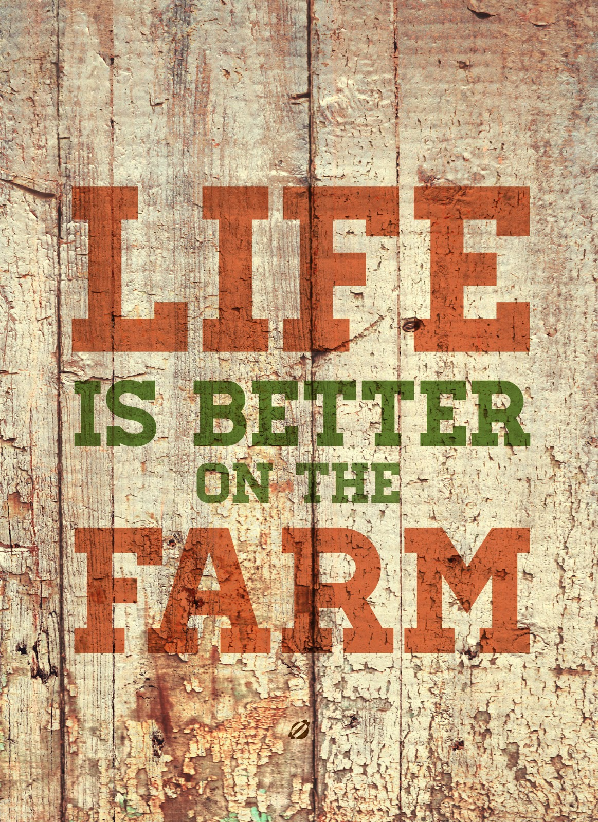 LostBumblebee ©2014 Life is Better on the Farm -Free Printable -personal use