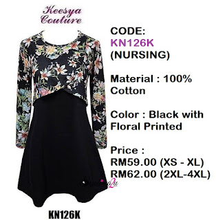 T-shirt-Muslimah-Keesya-KN126K