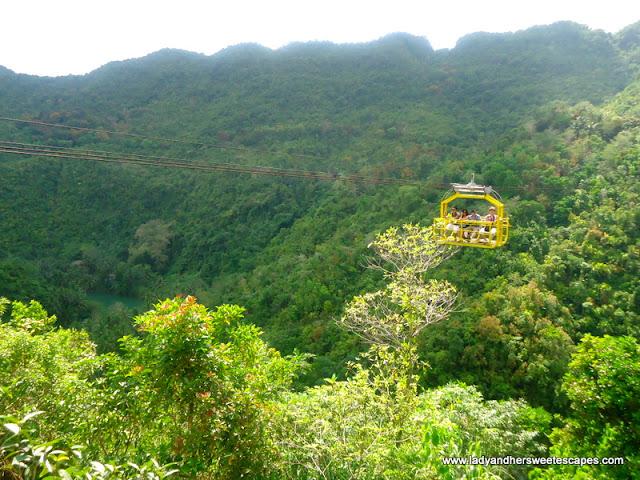 cable car ride Bohol