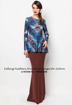 Design baju hari raya jovian mandagie
