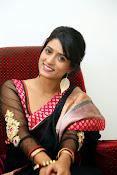 Nidhi Natuiyal Glamorous Photos in Saree-thumbnail-19
