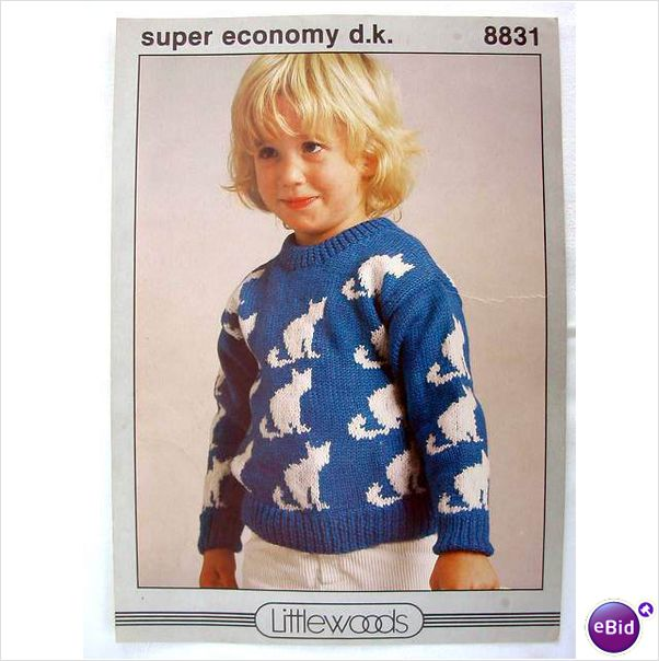 V m cat sweater knitting patterns at ebid - Knitted cat sweater pattern ...