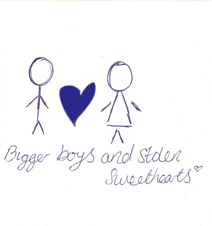 Bigger boys and stolen sweethearts.