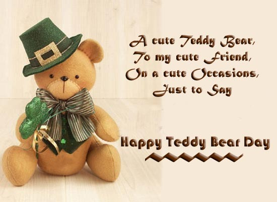 Happy teddy bear day wallpapers hd 2016