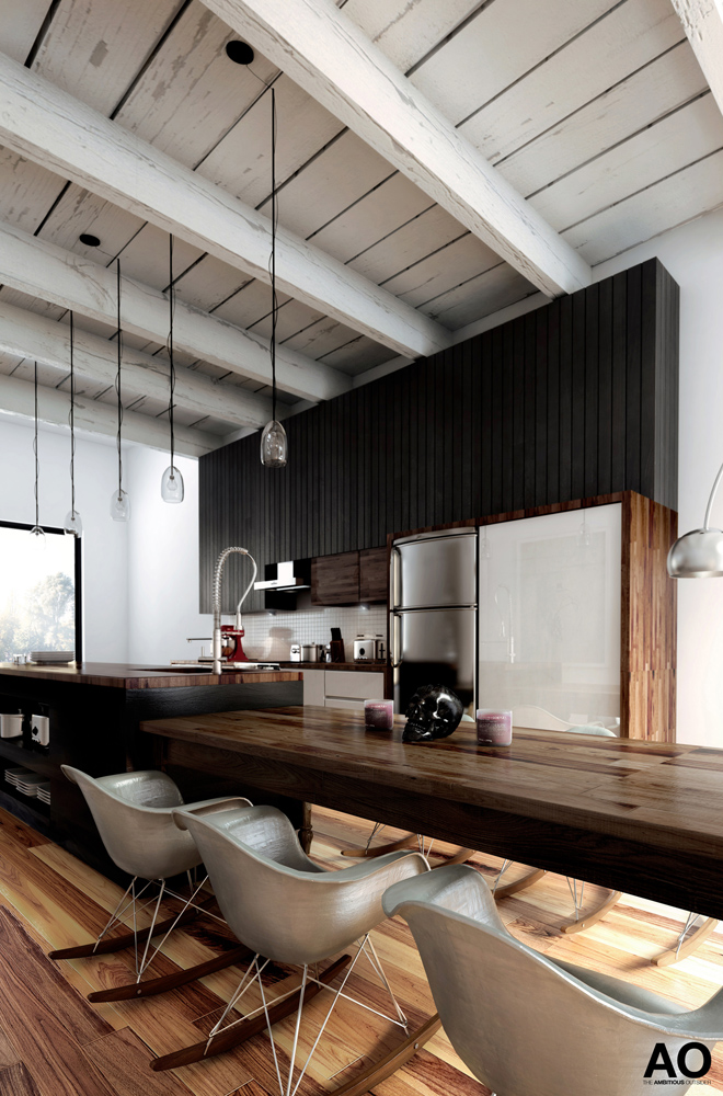 THE AMBITIOUS OUTSIDER Kitchen Number e