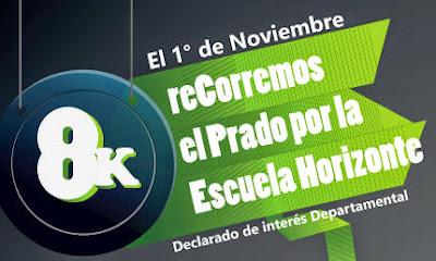 8k reCorremos el Prado por la escuela Horizonte (CAU, 01/nov/2014)