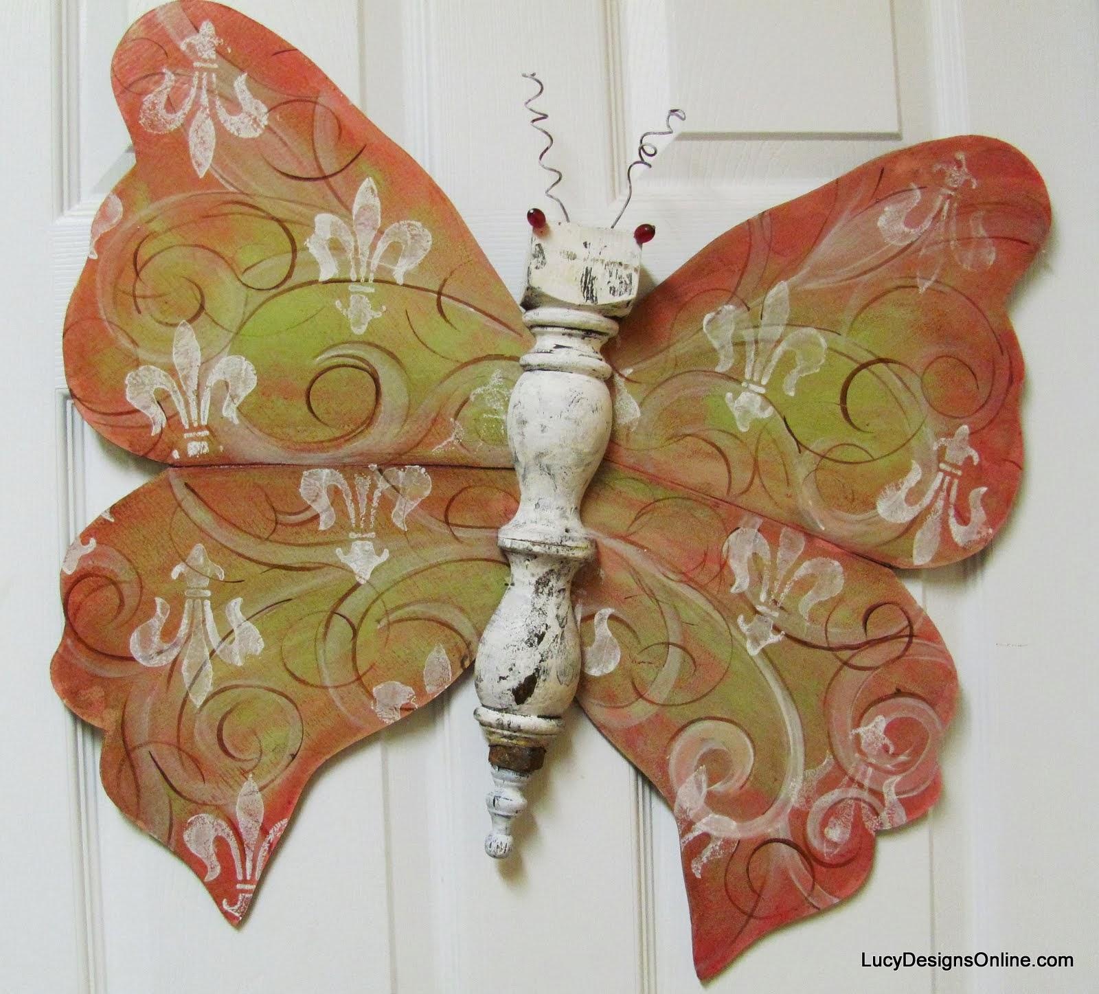 Stunning table leg butterfly