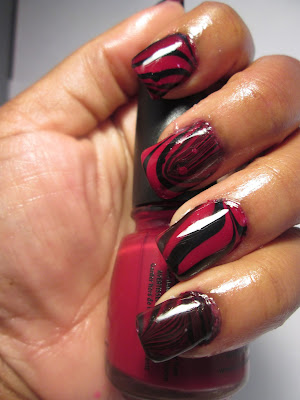 China-Glaze-Water-Marble-Nail-Art