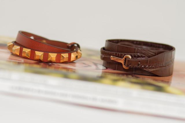 Massimo Dutti Leather bracelet