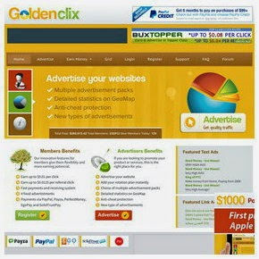 Get Paid To Click with GoldenClix