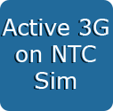 Active 3G Service in NTC Sim