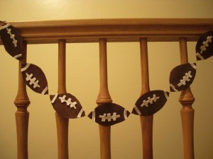 instructions on how to make this super budget friendly idea can be found at dollarstorecraftscom - Super Bowl Decorations