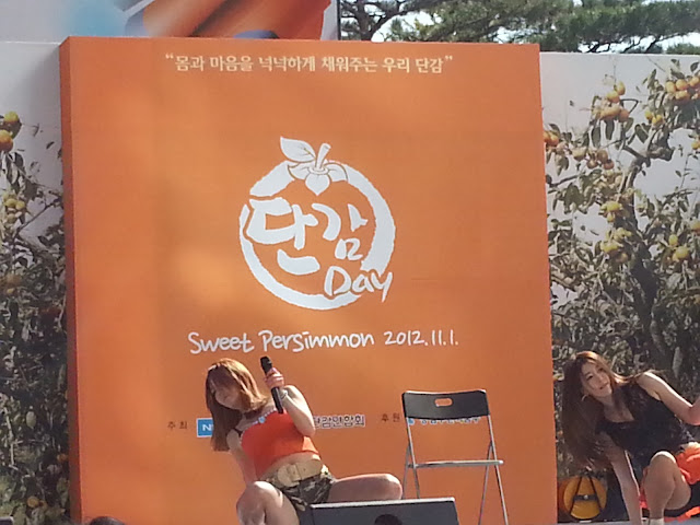 Persimmon Festival dance in Seoul