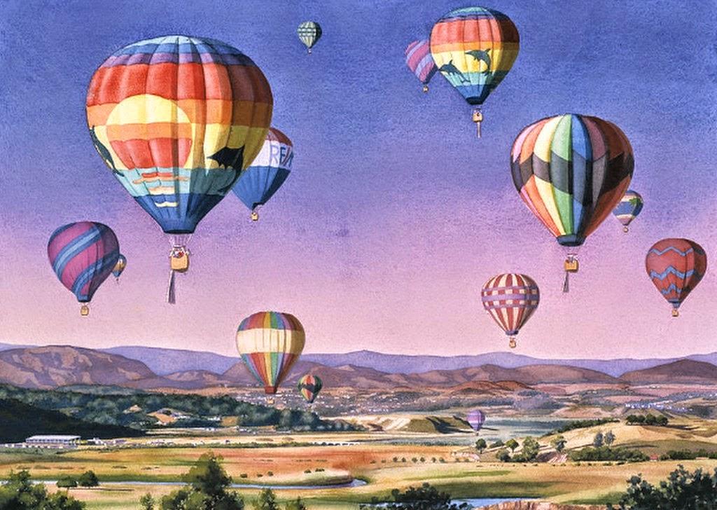 cuadros-paisajes-con-globos-aerostaticos